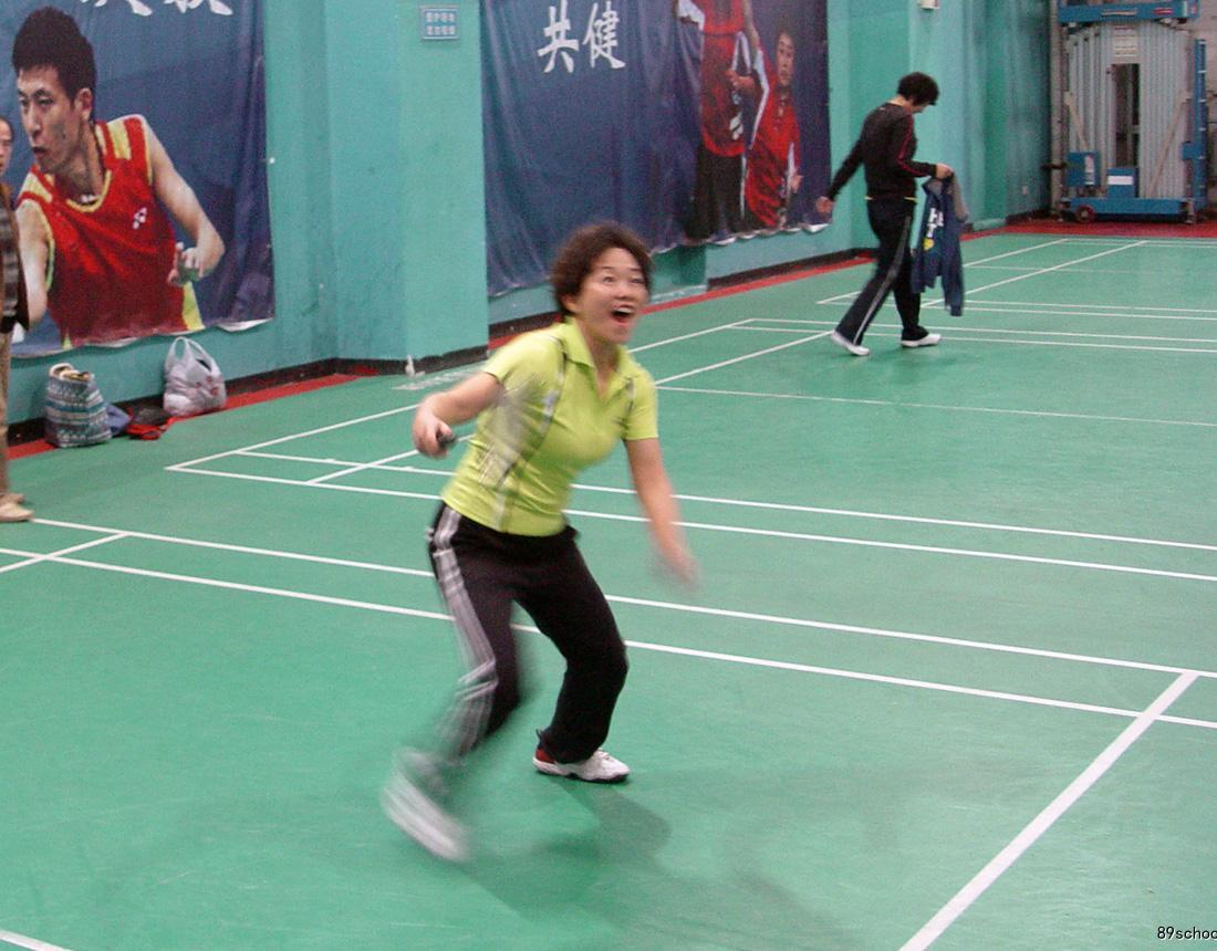 """我校教工积极参加区工会""""信合杯""""职工乒乓球、羽毛球比赛"""